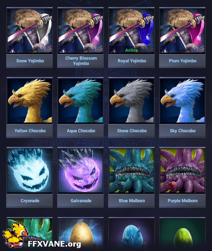 New Monster Farm Wiki Page - FFXVANE org